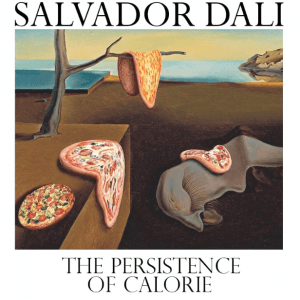 a pizza do salvador dalí