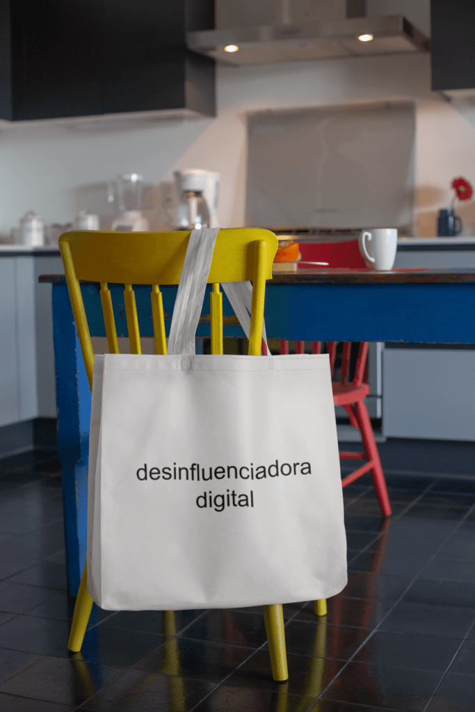 Desinfluenciadora digital - Ecobag