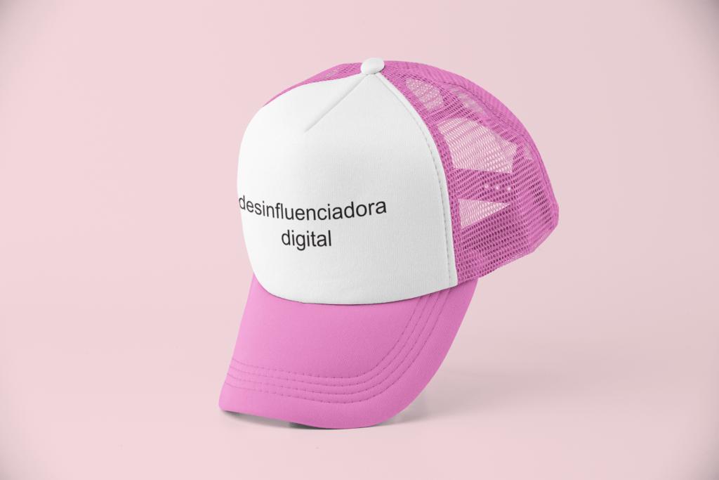 Desinfluenciadora digital - Boné